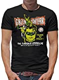 Touchlines Merchandise TLM Green Lantern - Warrior T-Shirt Herren XL Schwarz