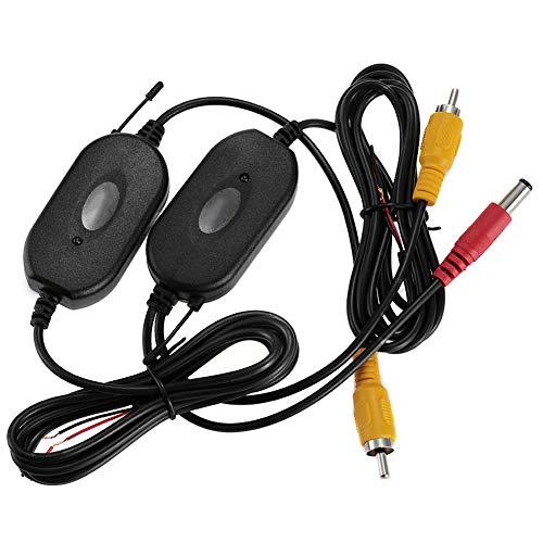 ZYCX123 Professionelle RCA Wireless Transmitter Receiver Auto 2,4 GHz Funk-Empfänger für Fahrzeugrückblick Connection Monitor 2,4 Ghz Wireless Transmitter
