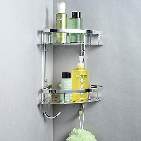YM@YG Moda semplici per ripiani Porte bagno acciaio inossidabile 304