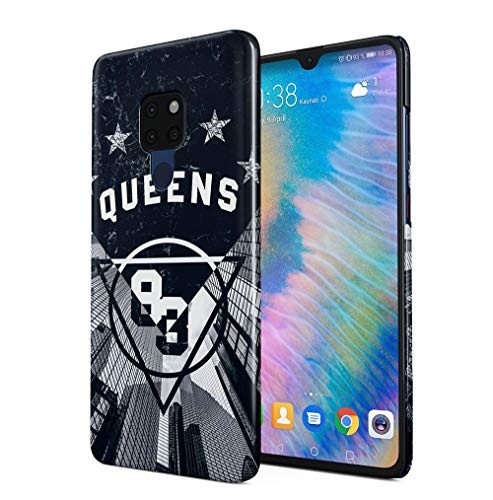Queens 83 Skyscraper Kompatibel mit Huawei Mate 20 SnapOn Hard Plastic Phone Protective Fall Handyhülle Case Cover Case Cover 83 Hard Case