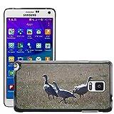 Grand Phone Cases Bild Hart Handy Schwarz Schutz Case Cover Schale Etui // M00141005 Cape Barren Gänse Gänse Tier // Samsung Galaxy Note 4 IV