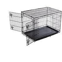 Catral Tom Jaula Plegable Para Animales, Negro, 63x91.5x57 cm (76020002)