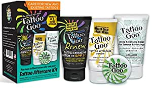 4 In 1 Tattoo Goo Aftercare Kit