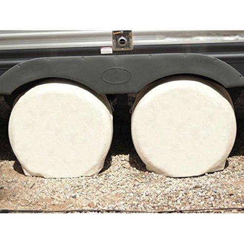 ROSENICE Coperture di gomma della rotella della tela di canapa per Auto camper camion auto Camper rimorchio 28