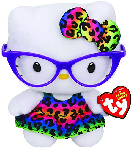 TY 41161 - Hello Kitty Baby - Fashionista, Plüschtier, 15 cm