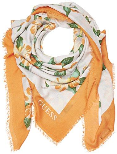 guess-aw6529pol03-echarpe-femme-multicolore-orange-multi-taille-unique
