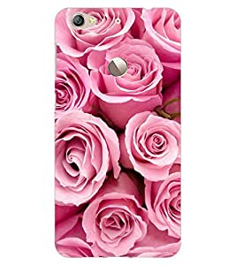 ColourCraft Beautiful Roses Design Back Case Cover for LeEco Le 1S