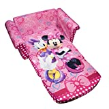 #7: Marshmallow Childrens Furniture - 2 in 1 Flip Open Sofa - Disneys Minnie Mouse Bow-Tique