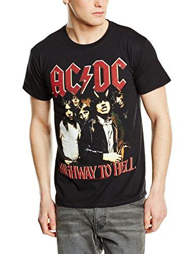 Plastic Head AC/DC Highway To Hell-camiseta Hombre