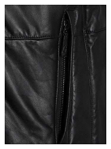 GIORGIO ARMANI Messieurs Veste en cuir Noir
