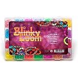 Blinky Loom XXL Bänder Kit , Set mit 24 Farben 5200 Loom Bandz und Metal Haken