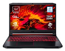 "Acer Nitro 5 AN515-54-732V Notebook Gaming con Processore Intel Core i7-9750H, Ram 16GB DDR4, 512GB PCIe NVMe SSD, Display 15.6"" FHD IPS 144 LED LCD, NVIDIA GeForce GTX 1650 4GB GDDR5, Windows 10 Home"
