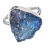 Tanzanite, Tansanit 925 Sterling Silber Ring 8