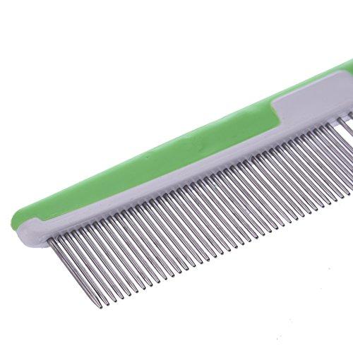Samber anti-statischen geraden Kamm, entfernt fallende Haare, Schmutz und verhindert Haar Knotting.Random Farbe - 5