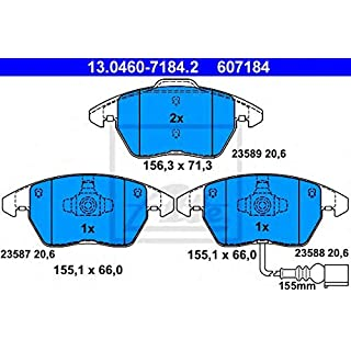 Bremsbeläge, Scheibenbremse ATE 13.0460-7184.2