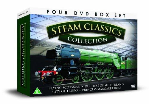 BRITISH STEAM CLASSICS 4 DVD Gift Set [UK Import]