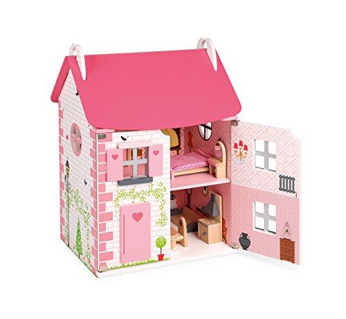Janod - J06581 - Maison de Poupées Mademoiselle