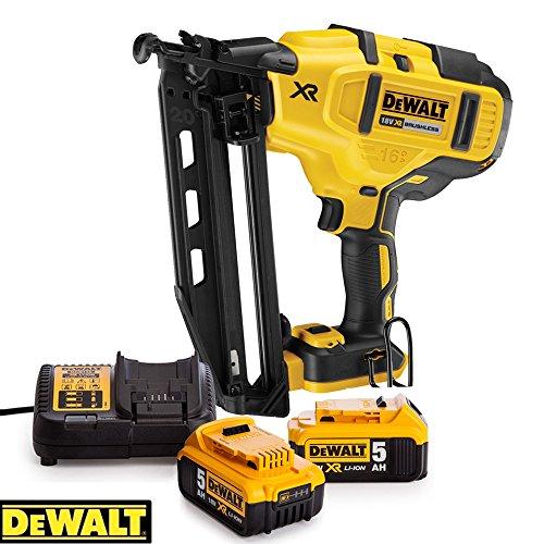 DeWalt-DEWPDCN660N-18-V-XR-Brushless-Framing-Nailer-2-x-5ah-Batteries-Charger