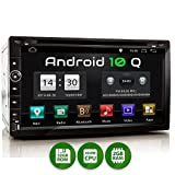 XOMAX XM-2DA758 Autoradio con Android 10 I Quad Core, 2GB RAM, 32GB ROM I Navigatore GPS I Supporto WIFI, 4G, DAB, OBD2 I Bluetooth I Touch Screen 6,9'' I DVD, CD, USB, SD, RDS I 2 DIN
