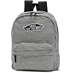 Mochila Vans Realm Marhsmallow Shine On Stripe a Rayas