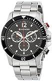Wenger Unisex Chronograph Quarz Uhr mit Edelstahl Armband 01.0643.109
