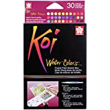 Sakura Koi acuarela bolsillo campo Sketch caja 30colores surtidos colores, acrílico, multicolor