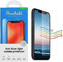 """Ocushield Vitre iPhone XR 6.1"""" de Protection Anti Lumière Bleue Verre Trempé iPhone XR 6.1"""" I Verre Trempé iPhone XR..."""