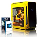 VIBOX Warrior 4.39 Gaming PC Computer mit War Thunder Spiel Bundle, Windows 10 OS (4,1GHz AMD FX 6-Core Prozessor, Radeon RX 560 Grafikkarte, 8Go DDR3 1600MHz RAM, 2TB HDD)