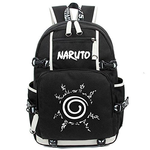 Yoyoshome, leuchtender Rucksack, Anime, Cosplay, Schule, Tasche schwarz Naruto (Naruto Cosplay Schuhe)