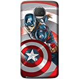 Mott2 Back Case For Motorola Moto G5s Plus | Motorola Moto G5s PlusBack Cover | Motorola Moto G5s Plus Back Case - Printed Designer Hard Plastic Case - Captain America Theme