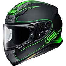 Shoei NXR Flagger Motorcycle Helmet S Matt Green Black (TC-4)