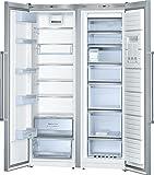 Bosch KAN99AI35 Side-by-Side/A++ / 186 cm Höhe / 309 kWh/Jahr / 237Liter Gefrierteil/Energieeffizienz kühlt besonders sparsam
