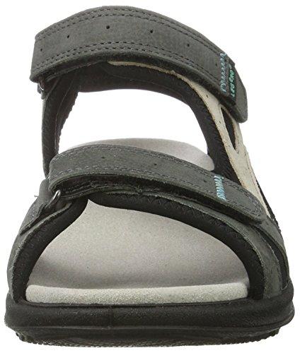 Legero Siris Damen Offene Sandalen mit Keilabsatz Weiß (Lavagna 98)
