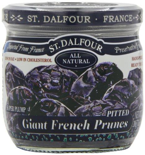 St Dalfour Semi Dried Pitt Prunes 200 g (Pack of 6) Test