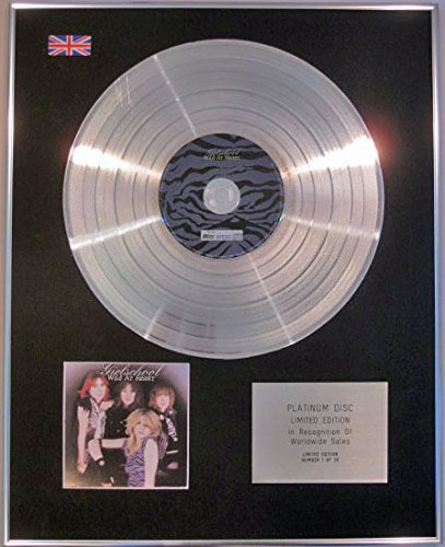 GIRLSCHOOL Limited Edition CD Platinum-CD-WILD AT ...