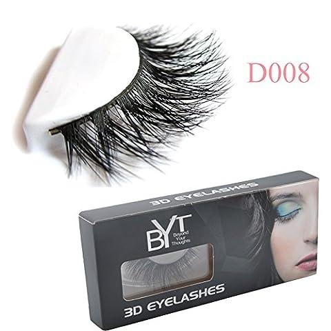 34 Modell 3D 100% Handgefertigte Künstliche Wimpern Dickes Augen Lashes