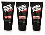 Head Funk Extreme Hair Style Gel Men Long Lasting Extreme Hold 150ml (3 Pack)