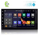 EINCAR Android 6.0 Auto-Stereo Doppel-DIN-GPS-Navigation, WiFi, Unterst¨¹Tzung Android Auto, Fastboot, Backup-Kamera, USB SD, AUX, 7
