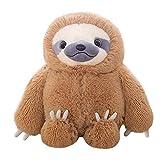 Morbuy Plüsch Spielzeug Stofftier Spielzeug, Kuschelig Stofftier Spielzeug Doll Weiche Waschbar Soft Toy (50cm, Brown)