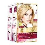 L'Oréal Paris - Excellence Crème - Coloration Permanente Triple Soin 100%...