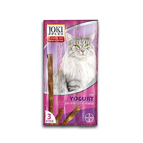 """JOKI Snack per gatto plus gatto """"yogurt"""" pz. 3 - Snack per gatto"""