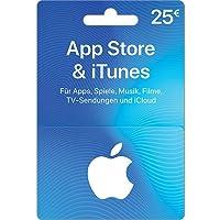 Geschenkkarte für App Store & iTunes - für Deutschland - per Post