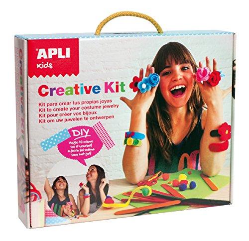 APLI Kids - Creative Kit, maleta para crear tus joyas (14006)