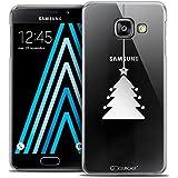 Caseink - Coque Housse Etui Samsung Galaxy A3 2016 (A310) [Crystal Motif HD Collection Noël 2016 Design Petit Arbre - Rigide - Ultra Fin - Imprimé en France]