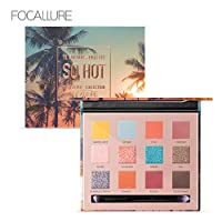 Focallure So Hot 14 Colour Eyeshadow Palette, FA-50#3