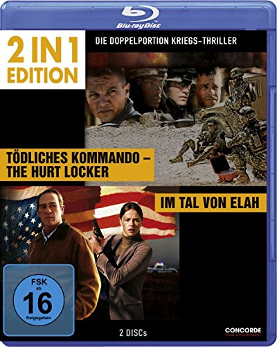Im Tal von Elah/Tödliches Kommando - The Hurt Locker - 2 in 1 Edition [Blu-ray]