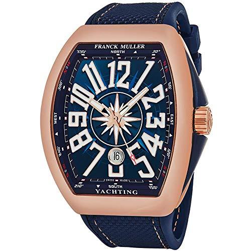 Franck Muller Vanguard Herren-Armbanduhr Blau Automatik 45SCYACHTGLD