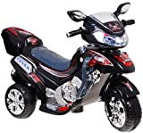 BSD Elektromotorrad für Kinder Elektrisch Ride On Kinderfahrzeug Elektroauto Motorrad - F928 - Schwarz