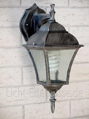 Edle Wandaußenleuchte hängend Außenleuchte Hoflampe 8396 IP43 Hoflicht
