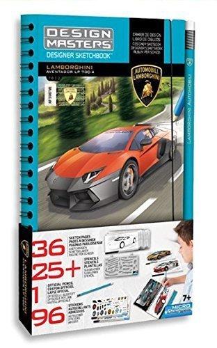 DM Design Masters Lamborghini Aventador LP 700-4 - Album da disegno e matita Lamborghini- 7032